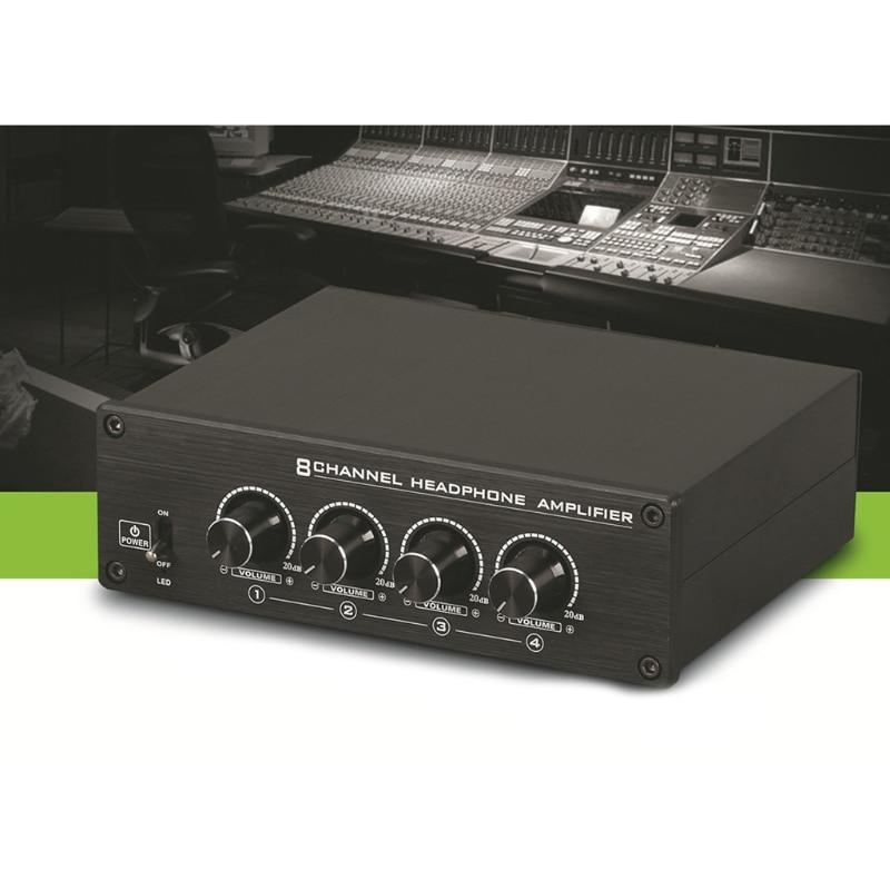 HA800-مكبر صوت صغير مضغوط للغاية ، 8 قنوات ، سماعة رأس استريو ، R9CB