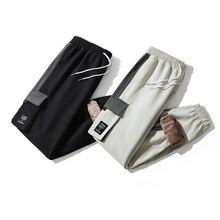 Korean Fleece Cargo Pants Men 2021 Winter New High Quality Oversized Loose Casual All-match Slacks M