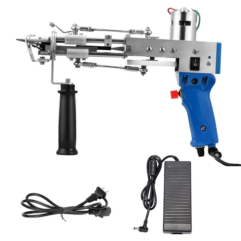2021 New Electric Rug Tufting Gun Weaving Flocking Machines Carpet Tufting Gun Hand Gun Carpet Cut Pile Loop Pile Machines 220V enlarge