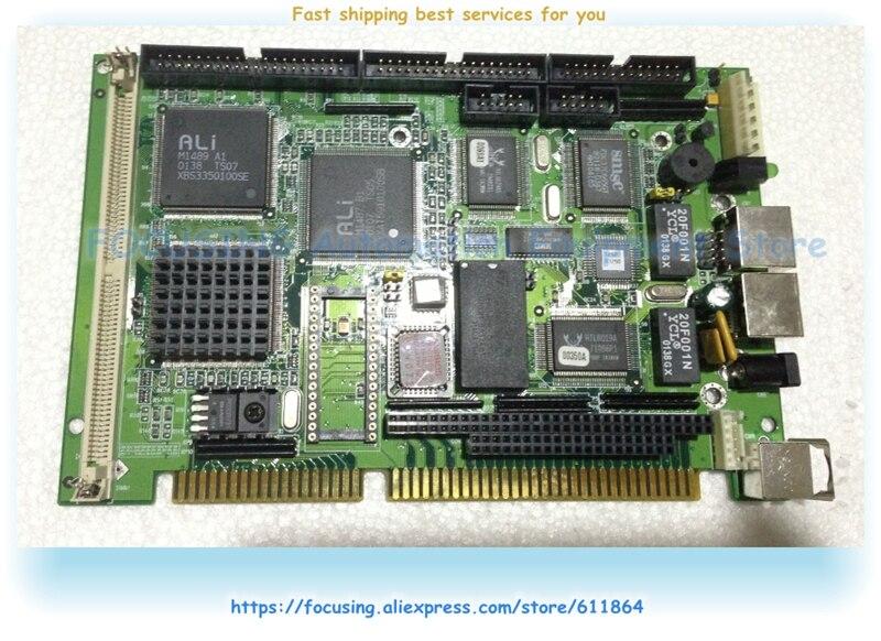 SBC-411/411E 486-Placa de medio nivel de longitud CPU integrada