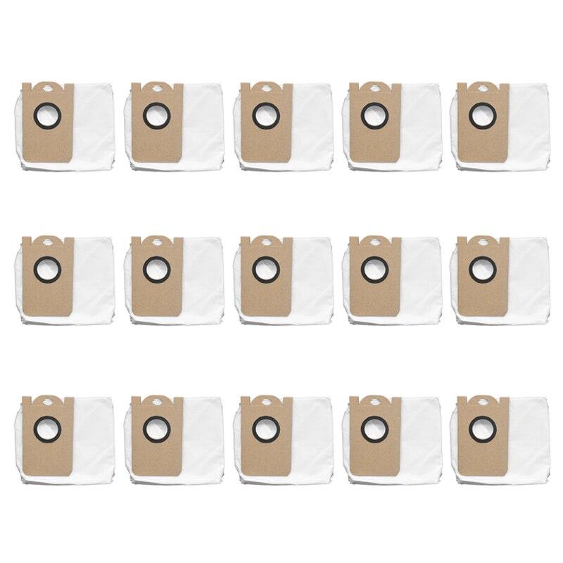 15 قطعة ل Proscenic M7 برو M8 برو جهاز آلي لتنظيف الأتربة مانعة للتسرب مخصصة كيس لجميع الغبار استبدال الملحقات أجزاء