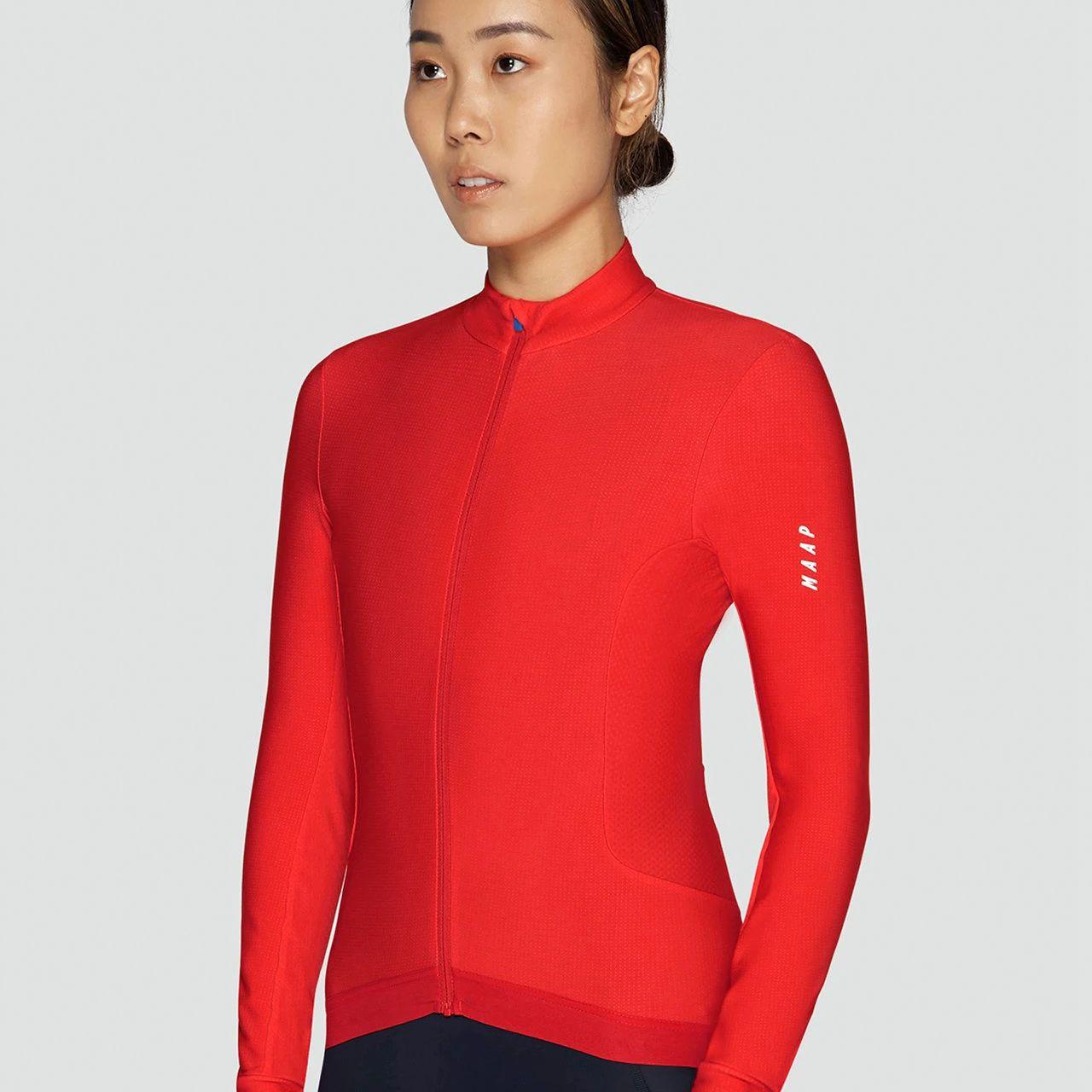 Camiseta de manga larga para ciclismo de montaña para mujer, Maillot de manga larga