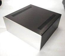 Rozmiar (mm)  W430 H180 L410 wszystkie wzmacniacz aluminiowy case wszystkie aluminiowa obudowa (model nr 4318)