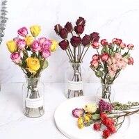 Vraies fleurs sechees naturelles de 40cm pour Bouquet  accessoires de decoration assortis pour la maison  bricolage creatif  mariage  paques