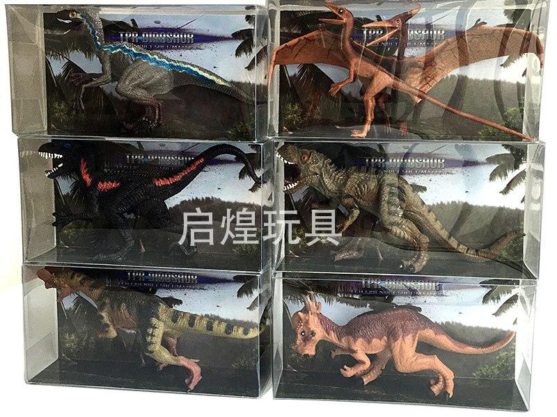 New2020 Dinosaur toys children's toys Jurassic World theme toys Tyrannosaurus rex velociraptor pterosaur