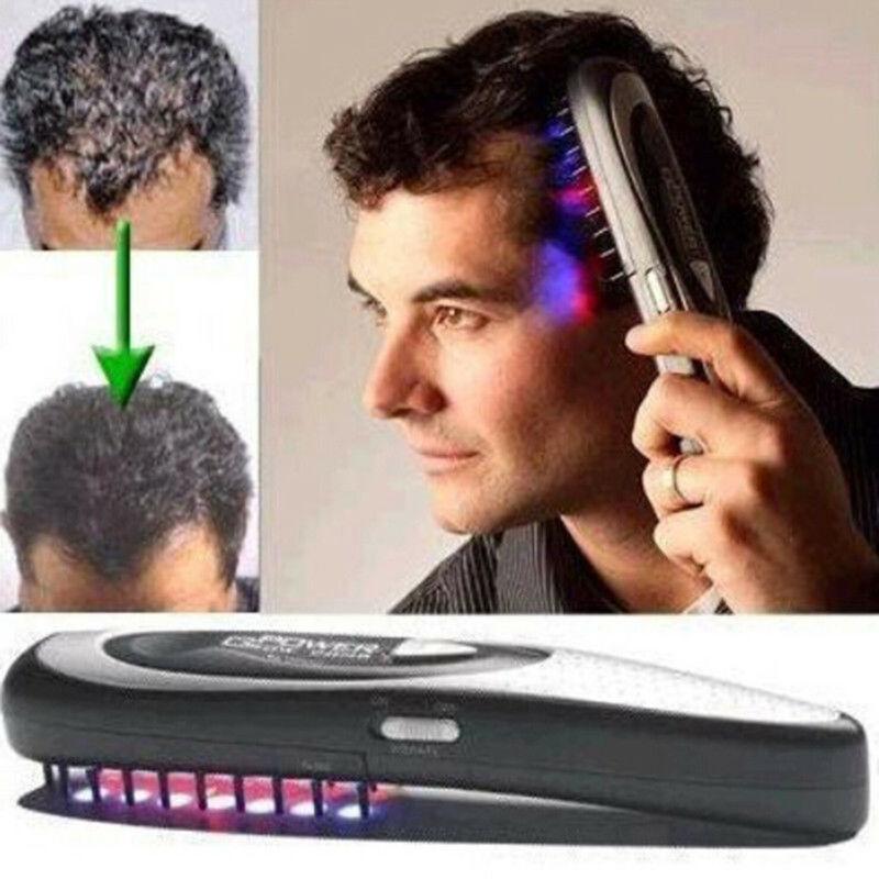 Peine de masaje de tratamiento de terapia infrarroja láser inalámbrico para el crecimiento del pelo infrarrojo