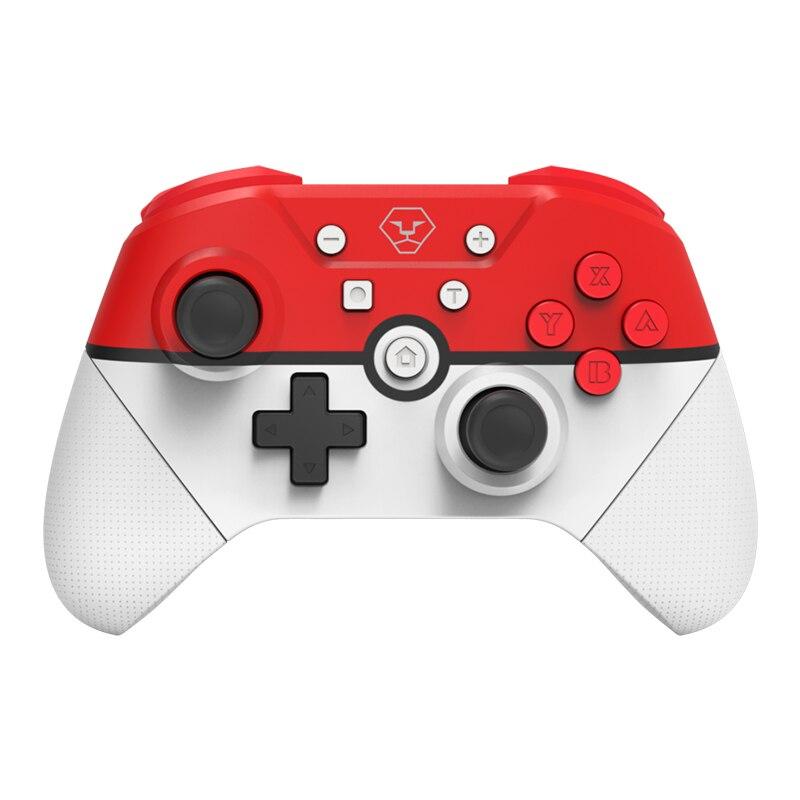 Gamepad inalámbrico bluetooth para Nintendo Switch Pro juego de consola controlador Joystick con vibración de Motor Dual para PC