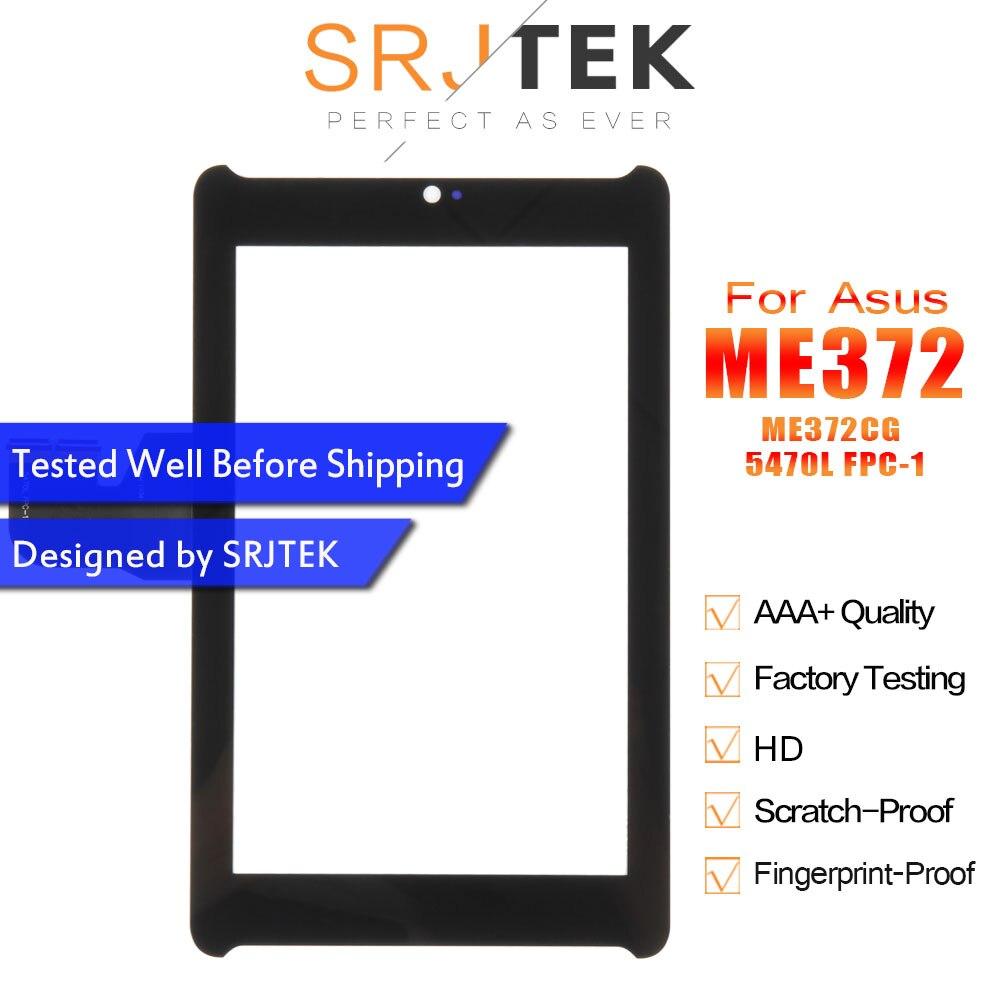 """7 """"Digitzer para Asus Fonepad 7 LTE ME372CG contacto ME372 CG K00E Tocuhscreen Sensor de la tableta de la pantalla de reemplazo para PC 5470L FPC-1"""