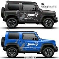 car stickers for suzuki jimny body decoration custom fashion sports decals