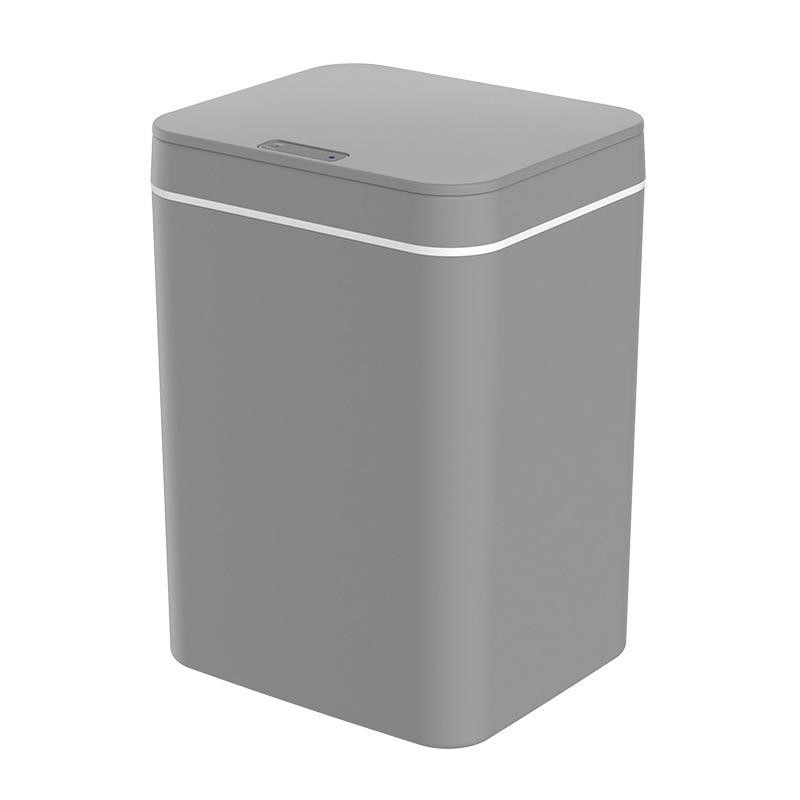 Kitchen Smart Trash Can Smart Sensor Waste Bin Bedroom Thickened Classification Trash Bin Bathroom Collision Sensing Garbage Can enlarge