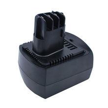 Nouvelle batterie doutils électriques 12v 2Ah ni-cd pour METABO 6.02151.50 BZ12SP BS 12 SP, BSZ 12, BZ 12 SP, SSP 12, ULA9.6-18