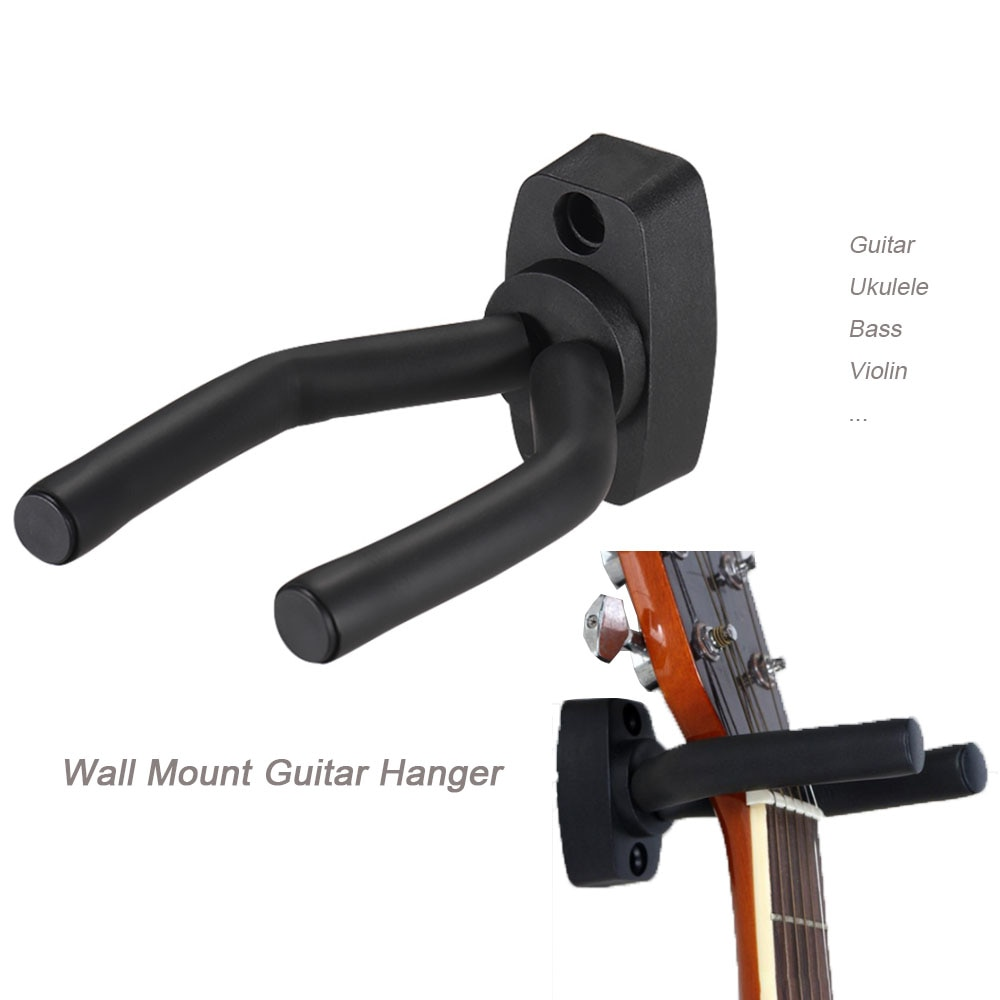 Wall Mount Guitar Hanger Hook Non-slip Holder Stand  for Acoustic Guitar Ukulele Violin Bass Guitar
