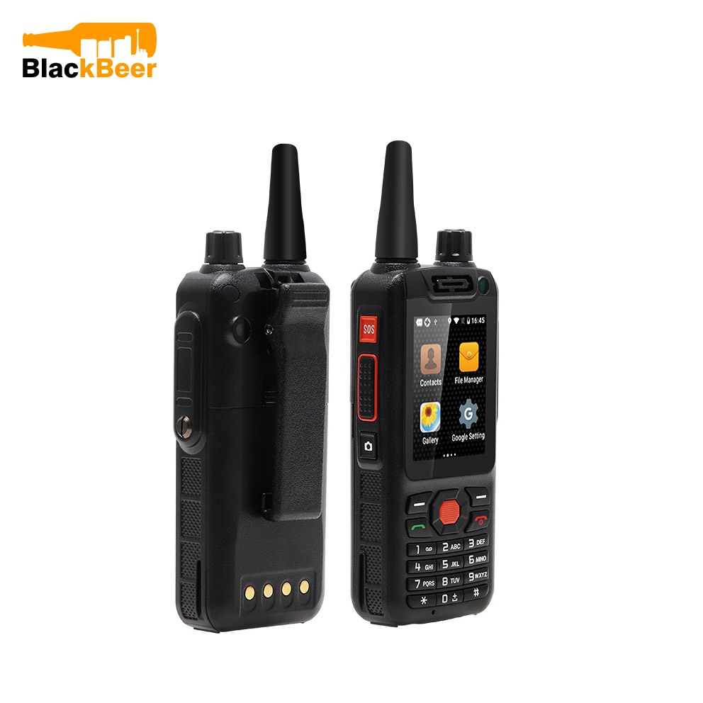 UNWA F25 Android 4G LTE Smartphone MTK6735 Quad Core Cellphones Zello Walkie Talkie Mobile Phone Signal Booster PTT 3500mAh GPS