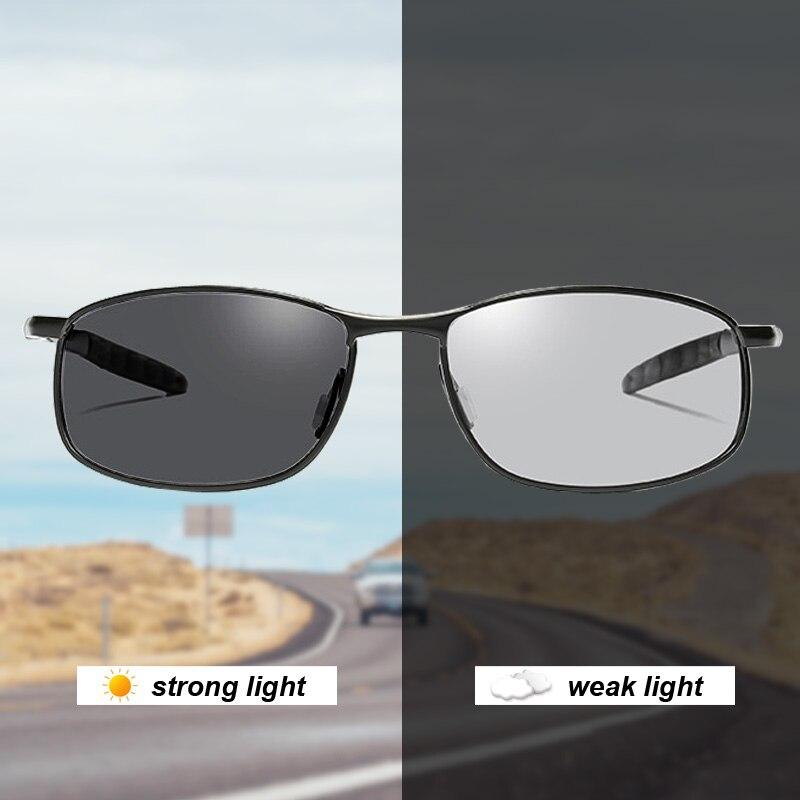 نظارات شمسية فوتوكروميك للرجال ، نظارات شمسية مستقطبة ، مناسبة للقيادة وصيد الأسماك في الهواء الطلق ، مع UV400 ، 2020