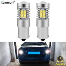 KAMMURI-ampoule P21W 1996   Blanc, pour Skoda Octavia 1 2 3 MK1 MK2 MK3 RS A5 A7 5E 1Z 1U, éclairage arrière de sauvegarde, 2019-