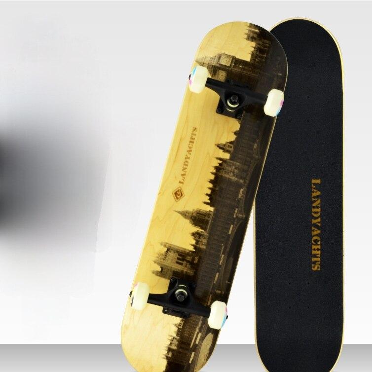 Скейтборды с двойным рокером для серфинга, скейтборды и колеса, модные формы, кленовые скейтборды, Thrasher Gyroroue, фитнес оборудование BI50SB