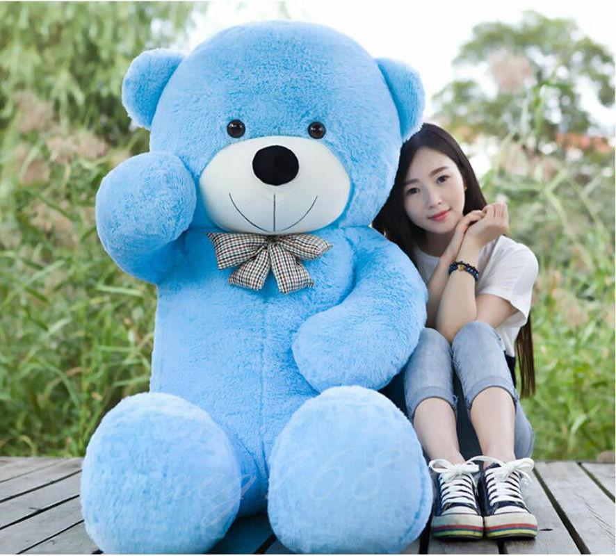 "Gigante, enorme 63 ""oso de peluche de regalo de muñeco de peluche suave 160cm juguete para regalo"