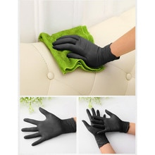 Fabric 500pcs 100% Really Nitrile Disposable Gloves Latex Pvc Gloves Dishwashing Kitchen Work Rubber