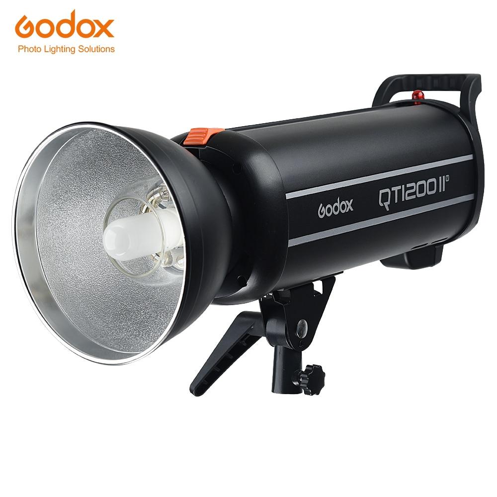 Godox QT1200II QT1200IIM 1200WS GN102 1/8000s مزامنة عالية السرعة بنيت في 2.4G Wirless X نظام مع لمبة فلاش ضوء إحترافي مصباح