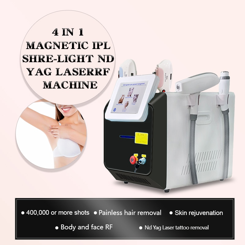 Máquina de eliminación de tatuajes láser YAG... equipo de belleza de depilación...
