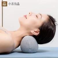 new xiaomi relieve stress stretch heated mini cervical pillow massage sleeping ergonomics neck protection 3 speed control pillow