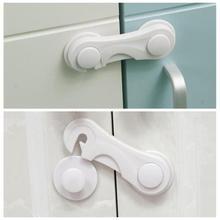 SALE!Child Safety Cabinet Lock Baby Drawer Door Cabinet Lock Plastic Protection Kids Safety Door Loc