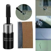 Fluide de réparation Nano verre automobile   Verre cassé, ensemble doutils de réparation Nano noir/blanc, Kit doutils pour la réparation du pare-brise magique noir/blanc 3