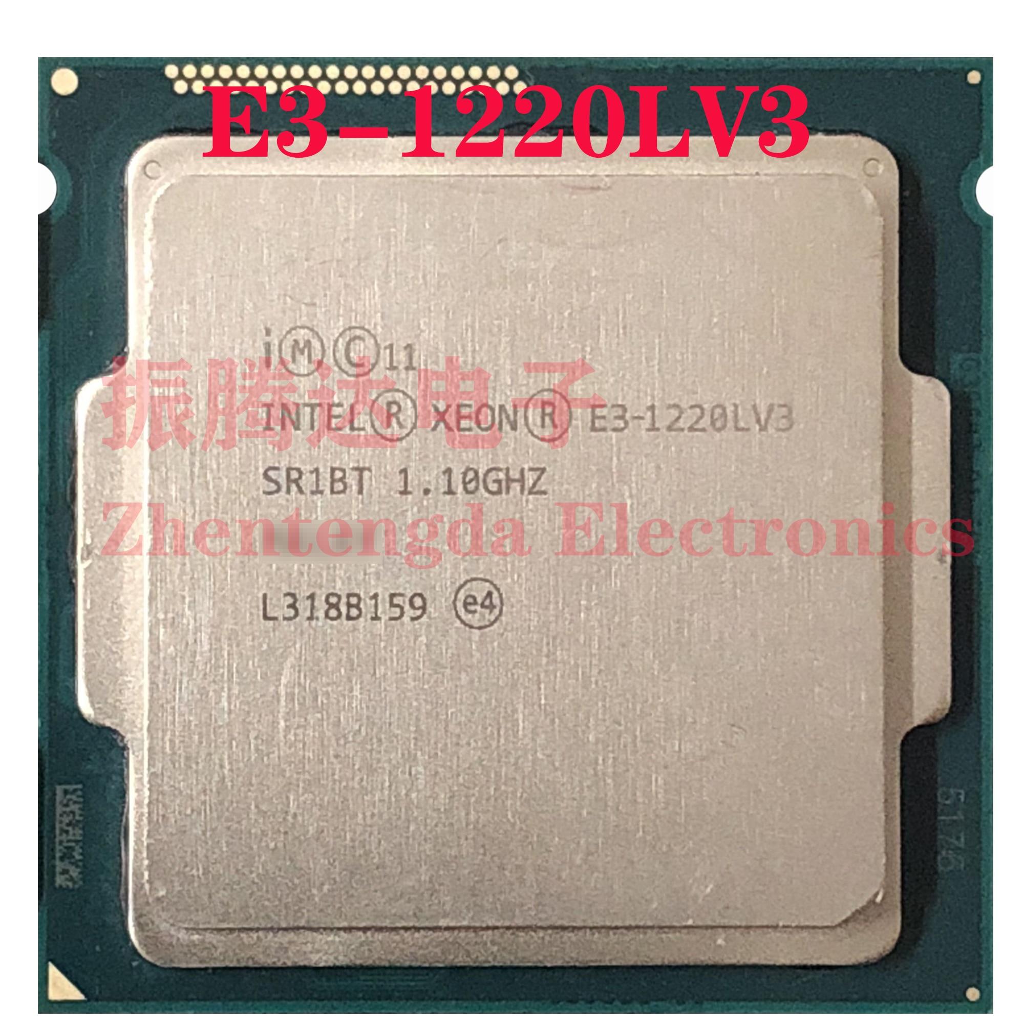 Intel Xeon E3-1220L v3 CPU 1.1GHz 4MB 2 Core 4 Threads LGA 1150 E3-1220LV3 CPU Processor