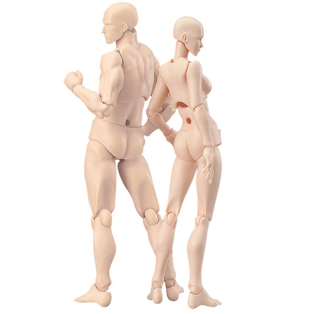 Beweglichen körper joint Action-figur Spielzeug künstler Kunst malerei Anime modell puppe Mannequin Kunst Skizze Zeichnen Menschlichen körper puppe Mann frau