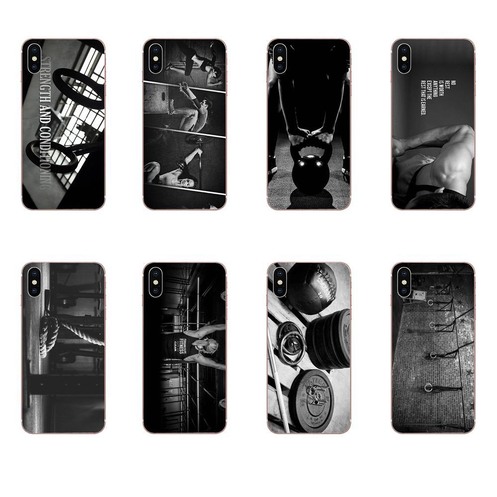 Para Galaxy Nota 10 Pro A10 A20 A20E A30 A40 A50 A60 A70 A80 A90 M10 M20 M30 M40 en venta pesas rusas de CrossFit Ultra delgada