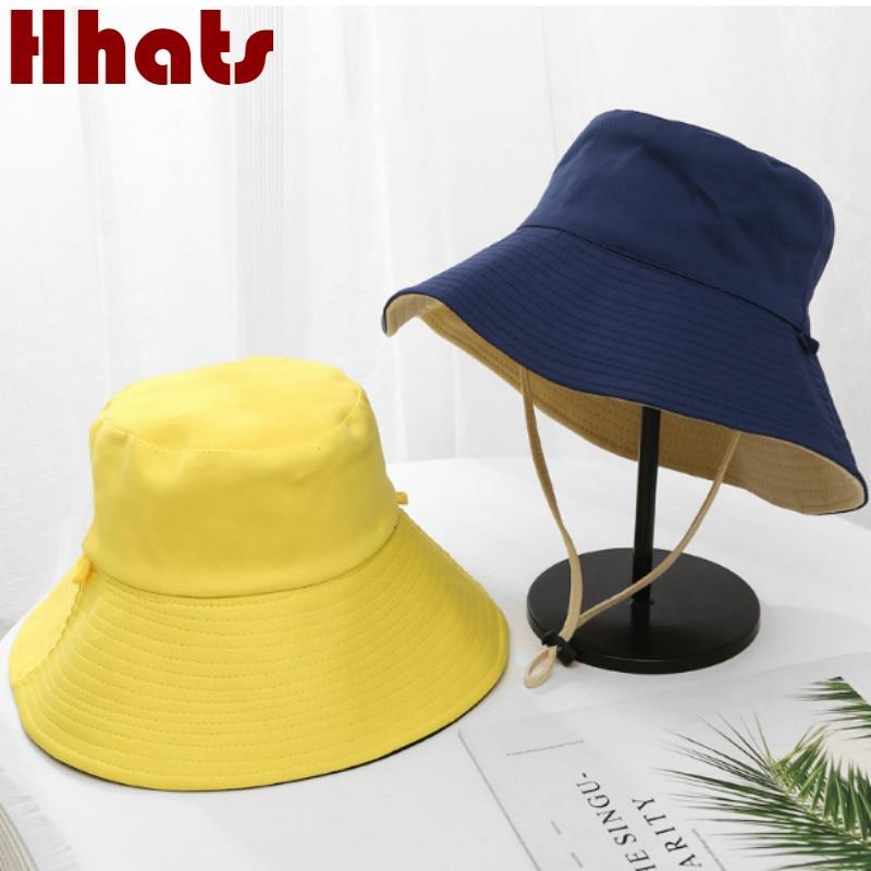 Wide Brim Mesh Summer Hat With String Blank Large Brim Breathable Fishing Bucket Hat Outdoor Hiking Fishermen Sun Hat Beach Bob