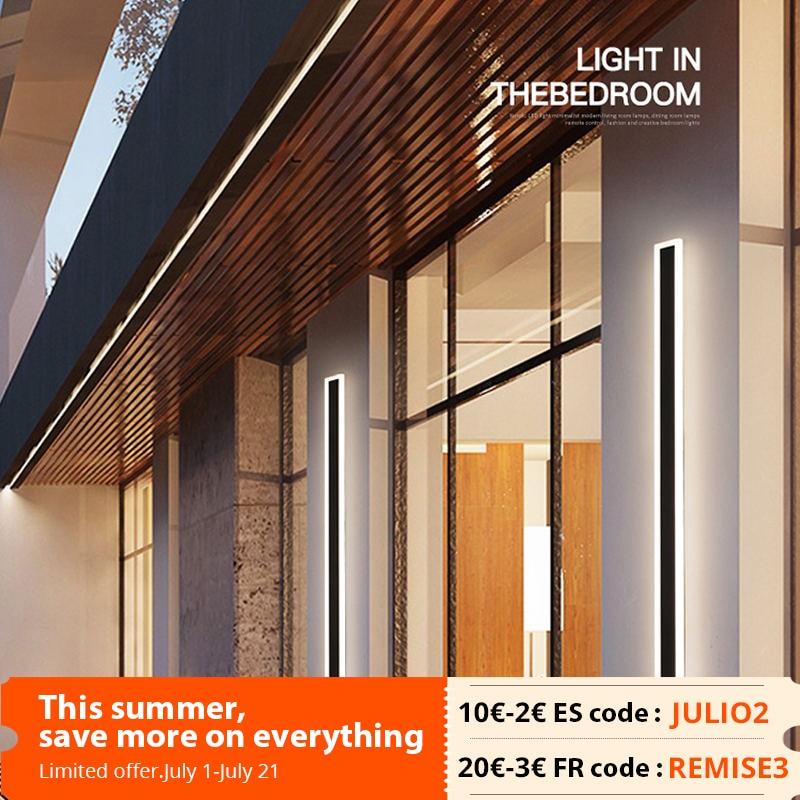 مصباح جداري LED أكريليك حديث مثبت على السطح ، مصباح بجانب السرير ، شرفة ، حمام ، مرآة داخلية وخارجية ، تركيبات إضاءة منزلية