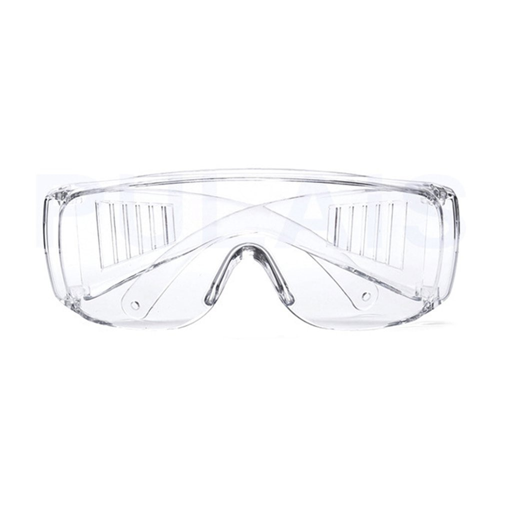 Safety Glasses Lab Eye Protection Protective Eyewear Clear Lens Workplace Safety Goggles Anti-dust Supplies 2020