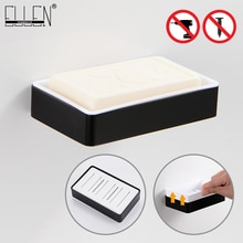 Bathroom Soap Holder Bath Shower Soap Dish Black Easy Clean Bath Storage Bathroom Accessories Strainer ML1018