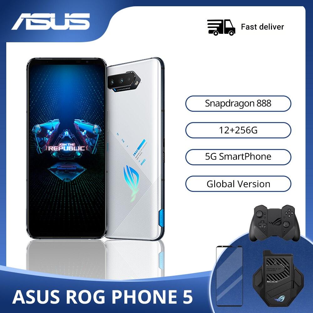 ASUS ROG Phone 5 глобальная версия оригинальный Snapdragon888 12G Оперативная память 256G Встроенная память 6000 мА/ч, 65 Вт Android Q OTA Update игровой телефон ROG5