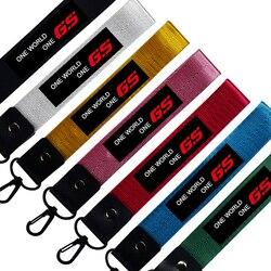 Motocicleta chaveiro pulseira chave do carro id cartão keycord telefone cordão para o iphone gs 1200 aventura lc 1250 650 310 800 f800 f850gs