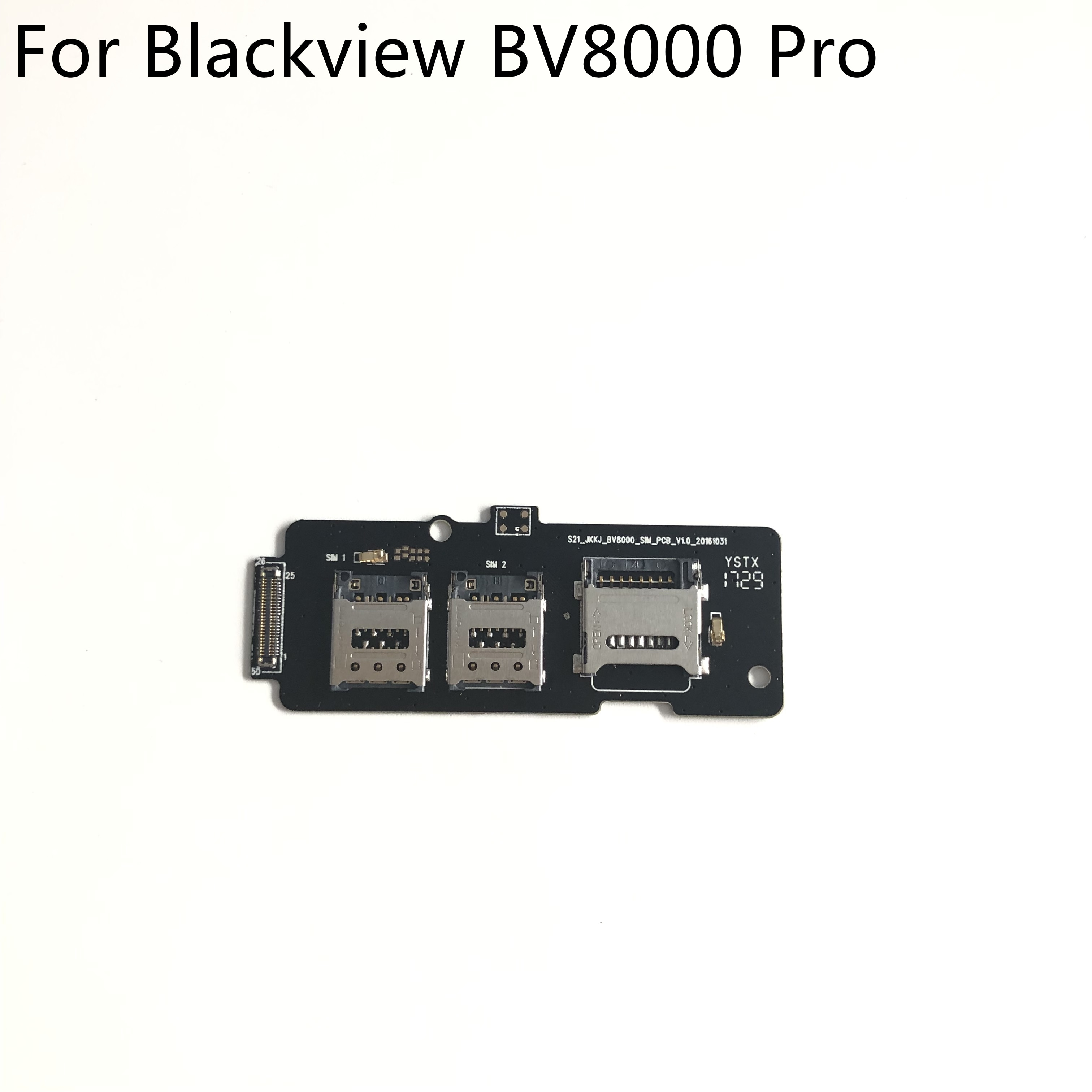 Фото - Original New SIM Card Reader Holder Connector For Blackview BV8000 Pro MTK6757 Octa Core 5.0 FHD tracking new original connector 6es7