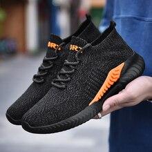 Damyuan chaussures pour hommes 2020 nouvelle mode chaussettes chaussures sport couple chaussures en plein air baskets hommes chaussures décontracté grande taille hommes chaussures