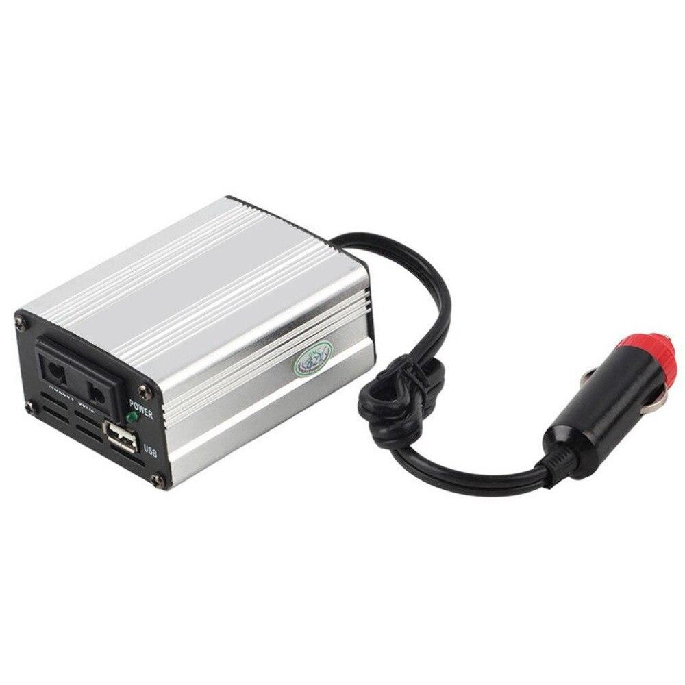 Hot Portátil Car Veículos 12V DC para AC Power Inverter Conversor Prático Mini Carregador Do Carro Transformador 300W XYA100 para o Caminhão