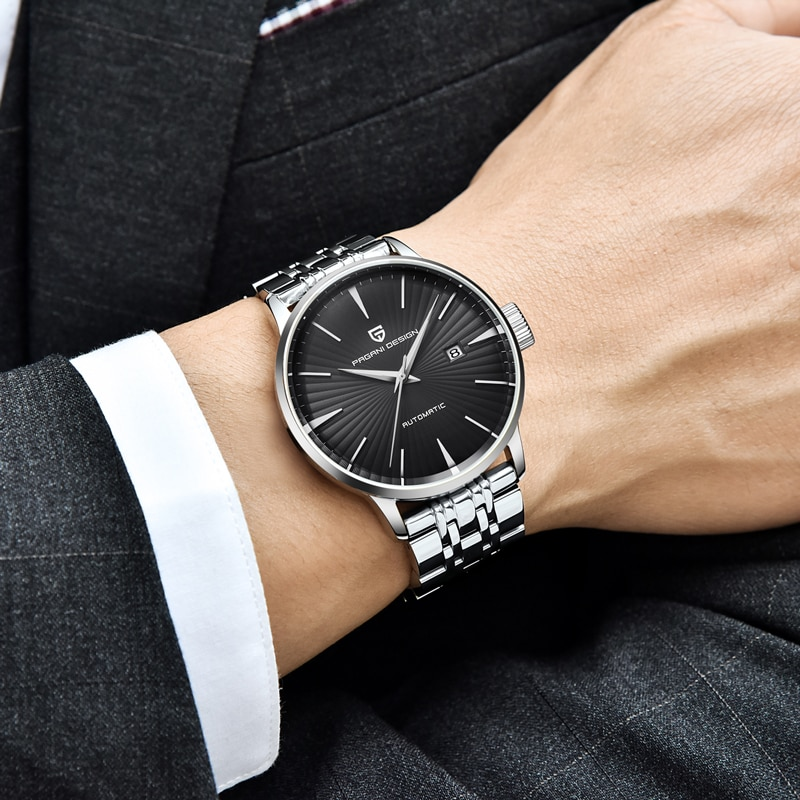 Mechanical Wristwatch PAGANI DESIGN Brand Luxury Men Watches Automatic Watch Men Stainless Steel Waterproof Business Sport Clock enlarge