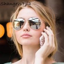 2020 Pilot Aviation Sunglasses MenShades Retro Classic Silver Sun Glasses Female Male Luxury Brand D