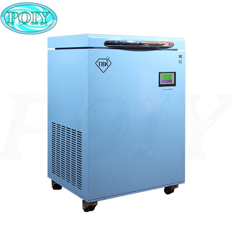 -Máquina de congelación LCD 190C, TBK-588, separador congelado, instrumentos, pantalla táctil LCD, máquina separadora para reparación de teléfonos móviles