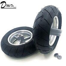 90/65-6.5 e 110/50-6.5 Dianteiro e Traseiro rodas de pneu sem câmara de vácuo Para 49cc Mini Dirt moto e Scooter Mini Moto