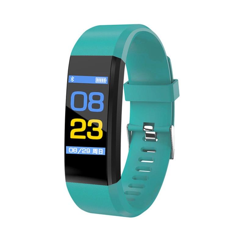 ضغط الدم ساعة تعقب اللياقة البدنية مراقب معدل ضربات القلب الفرقة الذكية النشاط سوار تعقب شاولين الذكية معصمه