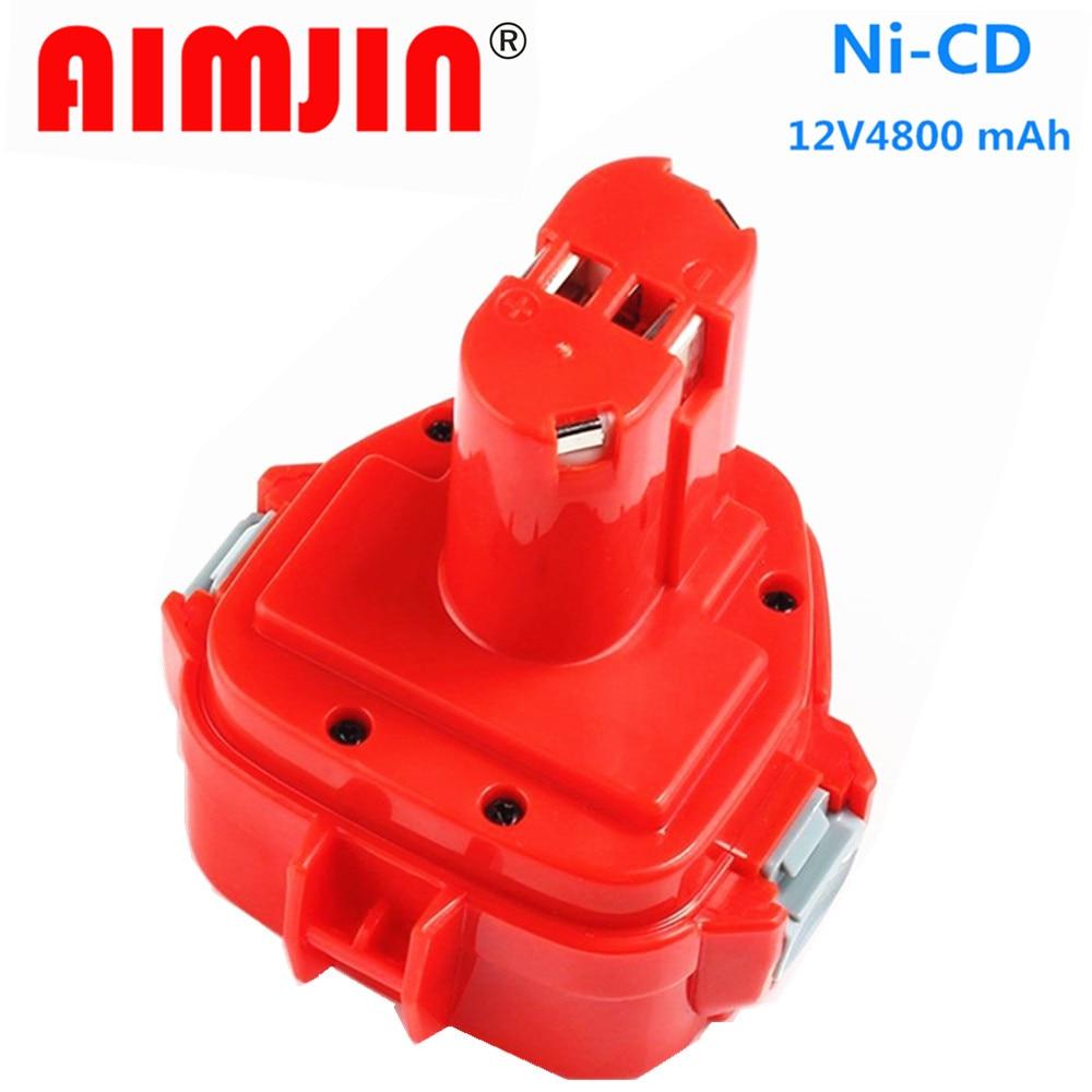 الأصلي 12 فولت 4800mAh Ni-CD 4.8/Ah استبدال أداة السلطة بطارية لماتيكا 12 فولت بطارية PA12 1220 1233 1201 1222 1223