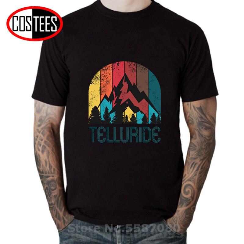 Camiseta Retro City of Telluride para hombre y mujer, camiseta Vintage MTB,...