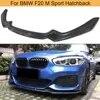 F20 avant pare-chocs lèvre Spoiler tablier pour BMW F20 F21 M Sport 120i hayon 2D 4D 2016-2018 fibre de carbone avant lèvre diviseurs