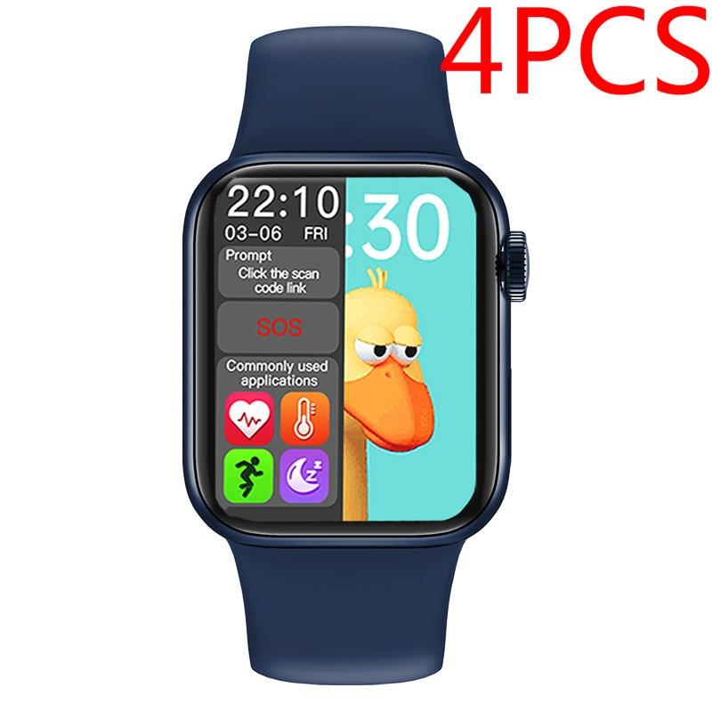 Review 4 pcs  HW12 HW16 HW22 Smart Watch HW22 Pro Smartwatch X12 Smart Bracelet Men Women Smart Band