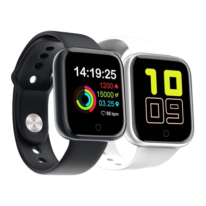 Reloj inteligente D20 pulsera IP67 resistente al agua paso de la presión arterial control de la frecuencia cardíaca Fitness reloj inteligente