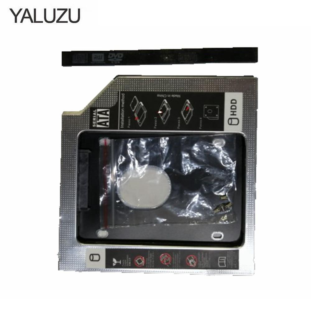 YALUZU 9.5MM 2nd HDD Hard Drive Caddy for Dell Inspiron 15 3521 3537 3541 3542 3543 3545 3567 5558 5559 3421